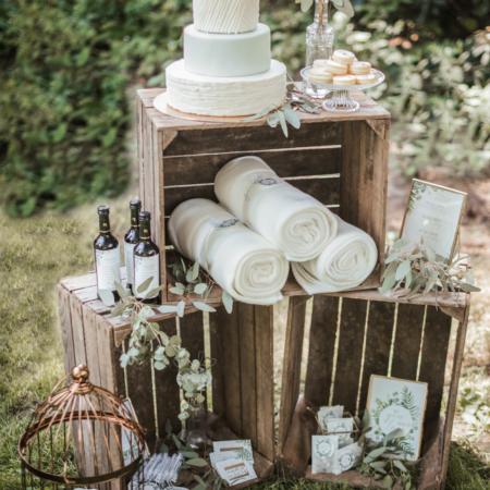 Hochzeitsinspiration Styled Shooting Greenery Gold
