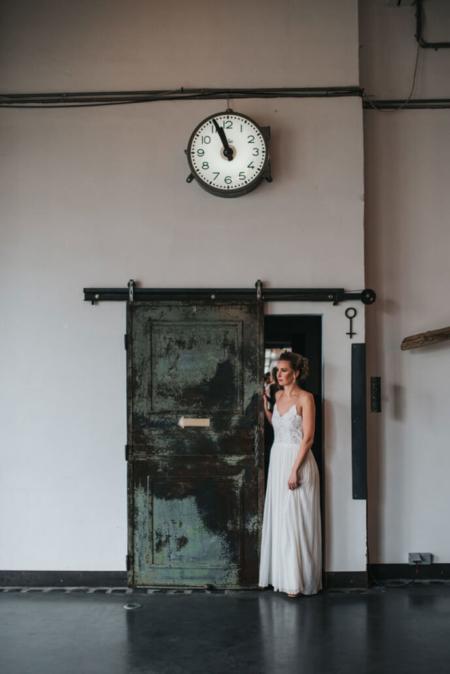 Hochzeitsinspiration Styled Shooting Industrial Chic Urban Wedding Braut