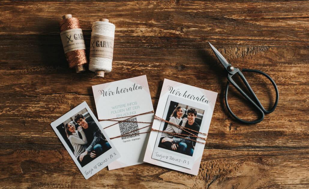 Hochzeitsinspiration Styled Shooting Industrial Chic Urban Wedding Save the Date