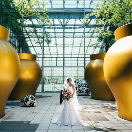 Tropical Sommerhochzeit echte Hochzeit Papeterie