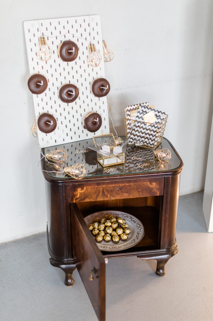 Sweet Table mit Donuts