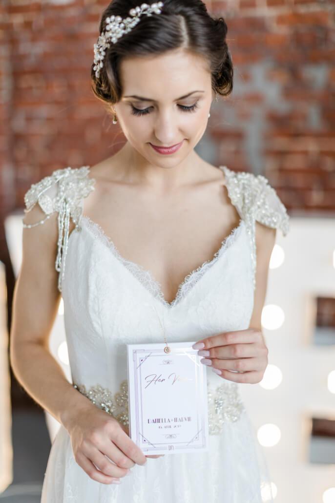 Her Vows Eheversprechen Golden 20s Hochzeit