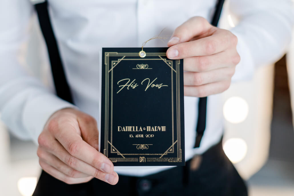 His Vows Eheverspreche Golden 20s Hochzeit