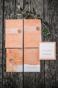 Hochzeitsinspiration Styled Shooting Living Coral Sommerhochzeit Fruity Summer Wedding