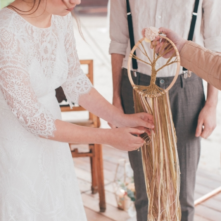 Hochzeitsinspiration Styled Shooting Hippie Yeah Cozy Beachwedding Strandhochzeit Boho Wunschbaum