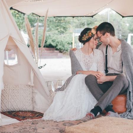 Hochzeitsinspiration Styled Shooting Hippie Yeah Cozy Beachwedding Strandhochzeit Boholounge